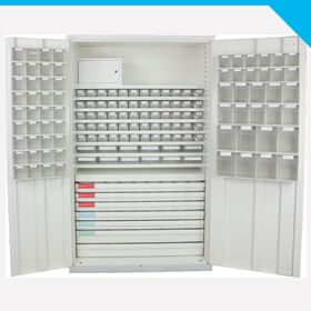120 Cabinet With Equipped Doors